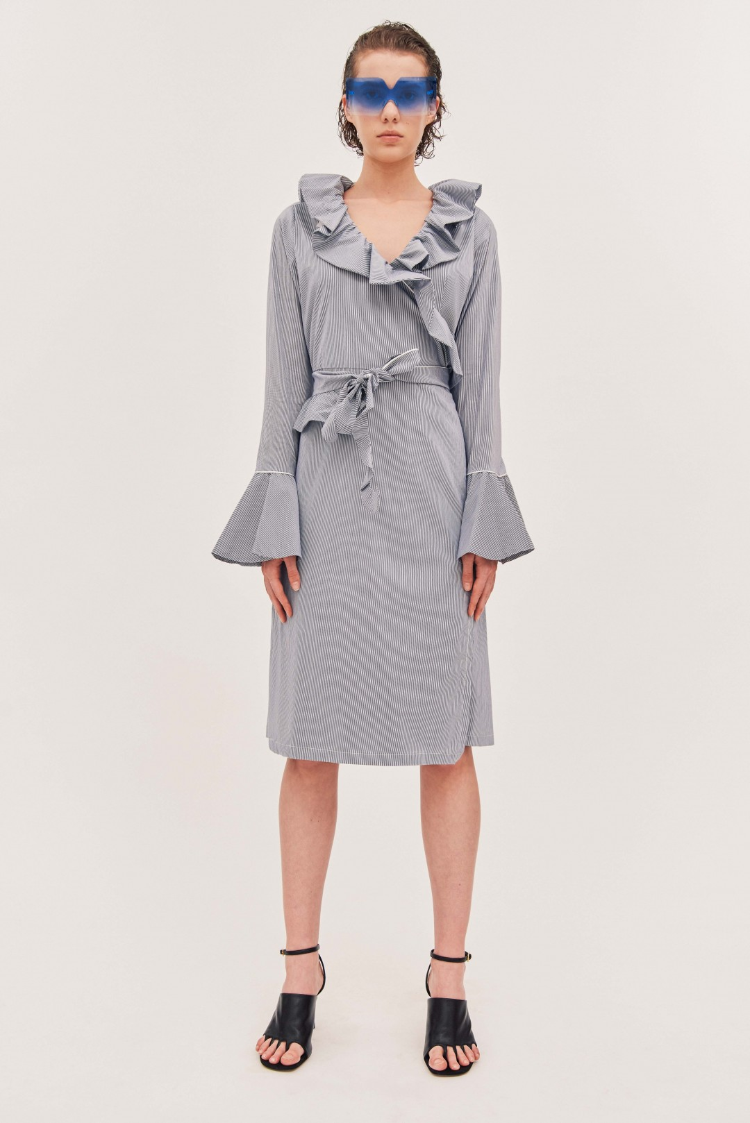 Matteo Wrap Dress - Angelia Ami